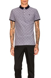 Scotch And Soda Two Tone Polo Black And White