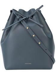 Mansur Gavriel Bucket Bag Blue