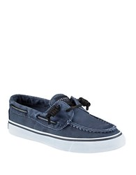 Sperry Bahama Denim Loafers Navy Blue