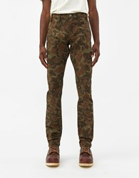 Rogue Territory Anniversary Officer Trouser In Olive Camo Size 28 100 Cotton