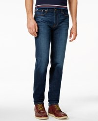 Tommy Hilfiger Slim Fit Dark Blue Wash Jeans