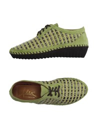 Alex Footwear Low Tops And Trainers Women Light Green
