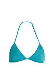 Bower Bang Triangle Bikini Top Turquoise
