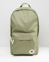 Converse Core Patch Backpack In Green Green