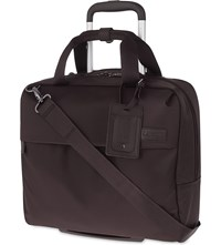 Lipault Plume Business Case Chocolate