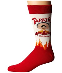 Socksmith Tapatio White Crew Cut Socks Shoes