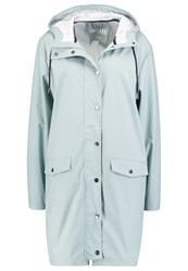 Mbym Fabiola Waterproof Jacket Aqua Gray Grey