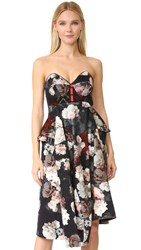 Preen Payton Dress Painted Flower