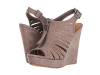 Not Rated Saucin Grey Women's Wedge Shoes Gray