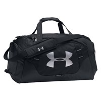 Under Armour Storm Undeniable 3.0 Medium Duffel Bag Black Silver