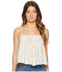 Levi's Premium R Made Crafted Beach Top Ikat White Blue Clothing