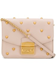 Furla Metropolis Amoris Crossbody Bag Neutrals