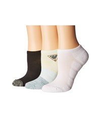Columbia Pfg Ombre No Show 3 Pack Dusty Green No Show Socks Shoes