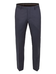 Alexandre Of England Pin Dot Tailored Fit Suit Trousers Navy