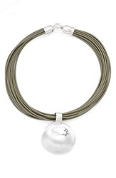 Simon Sebbag Women's Bubble Pendant Necklace
