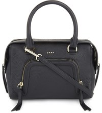 Dkny Chelsea Vintage Leather Satchel Black