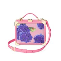 Aspinal Of London Trunk Beautiful Soul Clutch Bag Blossom