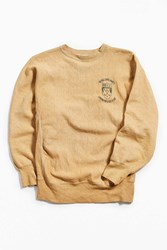 Urban Outfitters Vintage A 89 Fall Date Party Crew Neck Sweatshirt Dark Orange