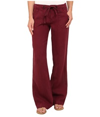 Sanctuary Beach Comber Pants Indian Earth Women's Casual Pants Red