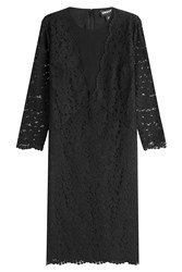 Dkny Lace Sheath Dress Black