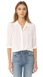 Equipment Essential Button Down Blouse Bright White