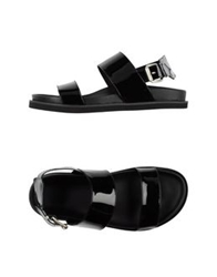 Bb Washed By Bruno Bordese Sandals Black
