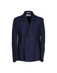 Mauro Grifoni Suits And Jackets Blazers Men Dark Blue
