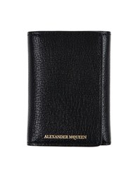 Alexander Mcqueen Document Holders Black