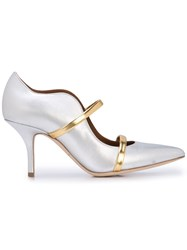 Malone Souliers Maureen Pumps Silver