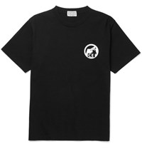 Cav Empt Printed Cotton Jersey T Shirt Black