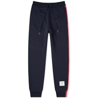 Thom Browne Tricolour Stripe Sweat Pant Blue
