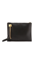 Sophie Hulme Oversized Chain Pouch Black