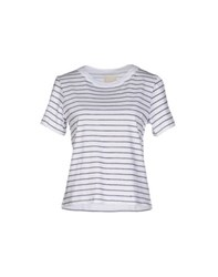 Band Of Outsiders Topwear T Shirts Men White