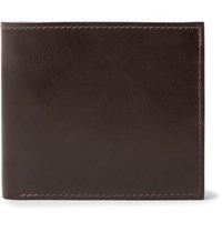 George Cleverley Horween Shell Cordovan Leather Billfold Wallet Brown