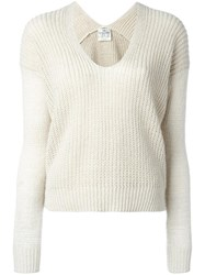 Forte Forte English Knit Jumper Nude Neutrals