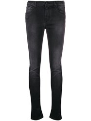 Jacob Cohen Cropped Skinny Jeans Black