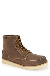 Eastland Men's 'Lumber Up' Moc Toe Boot Grey Leather
