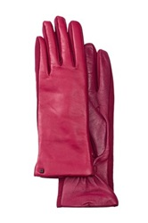 Urban Research Tech Leather Palm Glove Pink