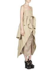 Maison Martin Margiela Convertible Trench Coat Dress Beige