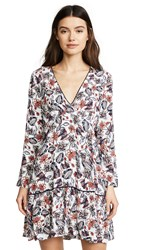 Ella Moss Melody Floral Dress Natural Print