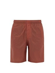 Acne Studios Romeo Ripstop Shorts Orange
