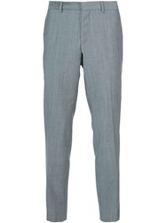 Maison Kitsune Classic Tailored Trousers Grey