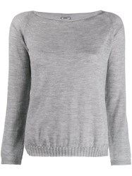 Kristensen Du Nord Light Sweater Grey