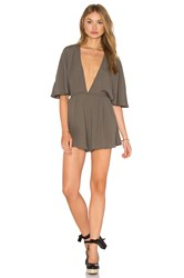 Nookie Elements Romper Olive