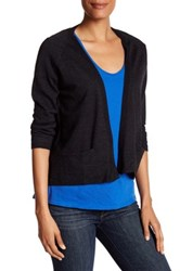 Zadig And Voltaire Birdy Wool Cardigan Gray