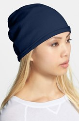 Women's Phase 3 Double Layer Beanie Blue Navy