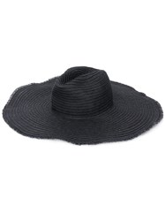 Emporio Armani Frayed Edge Hat 60