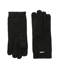 Calvin Klein Keyhole Gloves Black Extreme Cold Weather Gloves