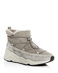 Ash Mitsouko Shearling Booties Flanelle