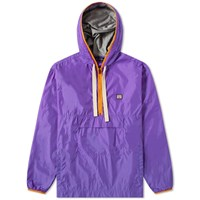 Acne Studios Osaze Half Zip Jacket Purple